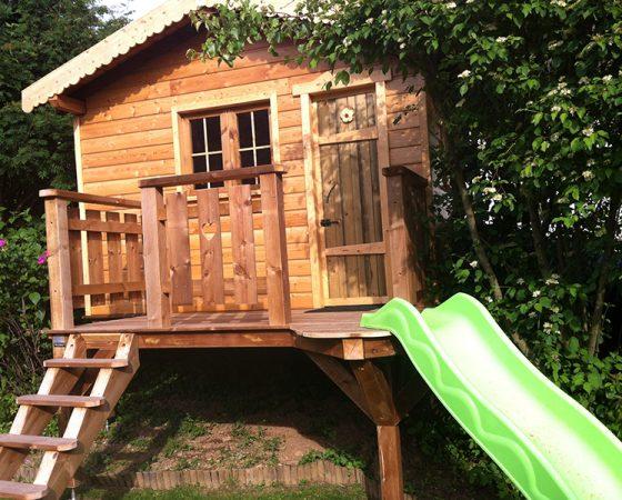 La cabane du jardin