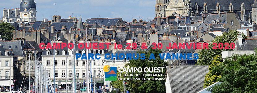 Le Salon de Campo Ouest – Le  29 & 30 janvier 2020