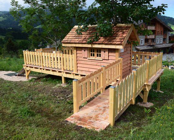 La cabane pour enfants