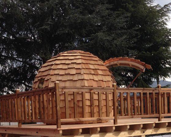 La cabane Ô – Salon de l'habitat et jardin