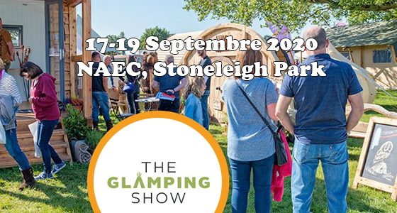 The Glamping Show – Le 17,18 & 19 septembre 2020